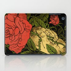 rose in my hand 2.0 iPad Case