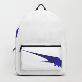 Halloween bat silhouette bats skeleton Backpack