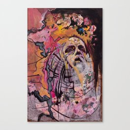 Waxing Canvas Print