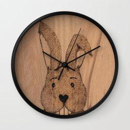 Little Rabbit Wall Clock