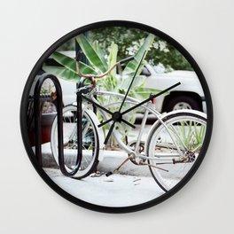 Flat Tire Wall Clock