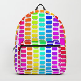 RGB bright swatches Backpack