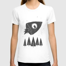 laika. T-shirt