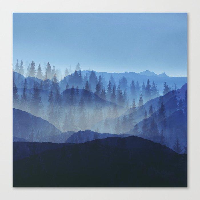 Woods Glory PQ Canvas Print