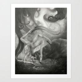 Refulgent Obscurity Art Print