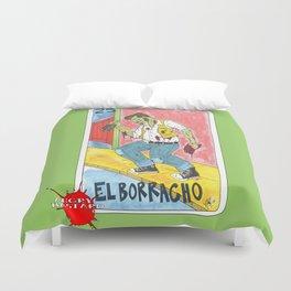 El Borracho Duvet Cover