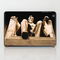 lincoln iPad Cases featuring Lincoln stirs by Dr. Tom Osborne