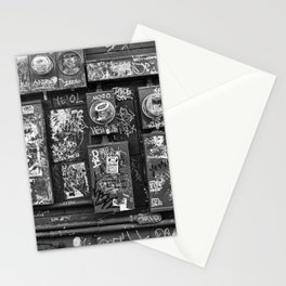 New Orleans - Frenchmen Street Graffiti Stationery Cards