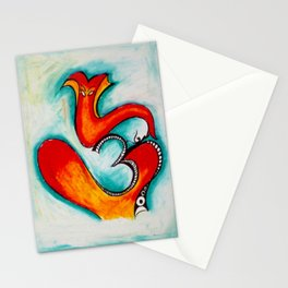 lord krishna sign Stationery Cards