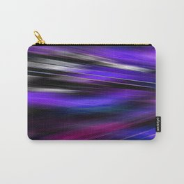 Re-Created  Feather ix by Robert S. Lee Carry-All Pouch