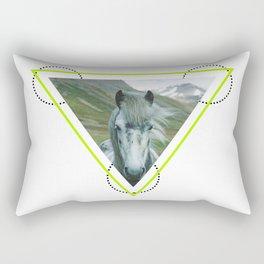 Equus caballus Rectangular Pillow