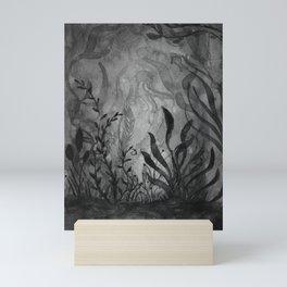Watercolor Ocean Life Foliage Mini Art Print