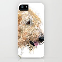 Cream Labradoodle iPhone Case