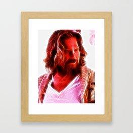 Magical The Big Lebowski Dude Framed Art Print