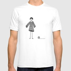 Knitting, gone awry. Mens Fitted Tee White MEDIUM