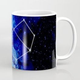 Pleiades Constellation Star Map Coffee Mug