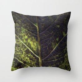 Leaf Four Throw Pillow