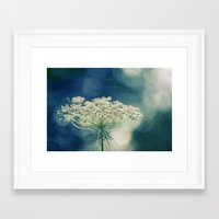 lace Framed Art Prints featuring Lace by Sandra Arduini