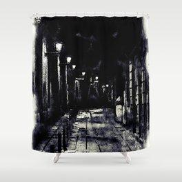 Barcelona, Streets Shower Curtain