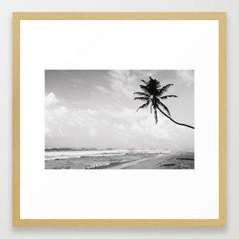 Swaying Palm Framed Art Print