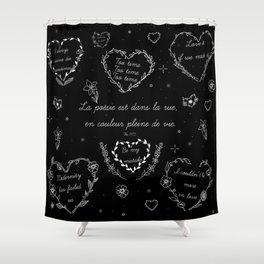 The1975 Shower Curtain