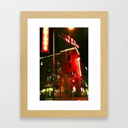 Hotel Ghost Framed Art Print