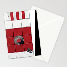 Connect the Squares Stationery Cards