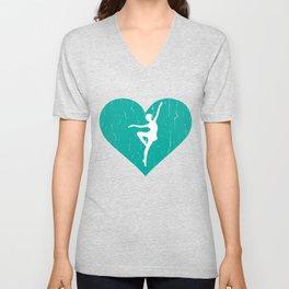 Dancer Shirt For Men Or Boys Unisex V-Neck