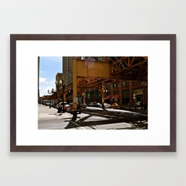 The L System - Chicago Framed Art Print