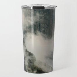 Yosemite fog Travel Mug