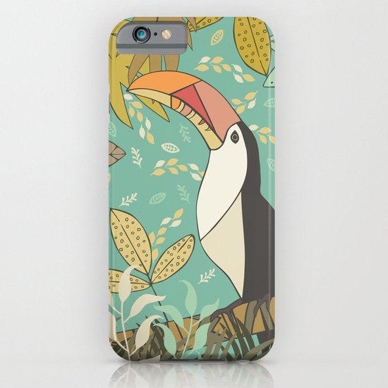 Forest Toucan  iPhone & iPod Case