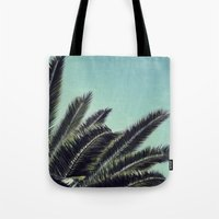 palms Tote Bags featuring Palms by RichCaspian