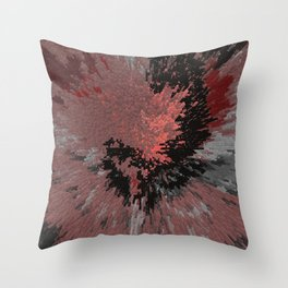 shatteredheart Throw Pillow