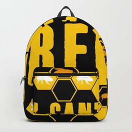Beekeeper Honey Bees Funny Saying Busy Backpack