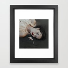 Girlfish Framed Art Print