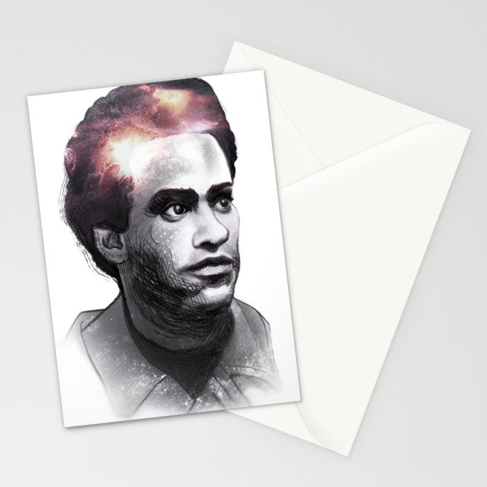 Huey Percy Newton (2/17/1942 – 8/22/1989) Stationery Cards