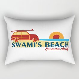 Encinitas - California. Rectangular Pillow