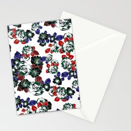 Cool Floral texture Stationery Cards