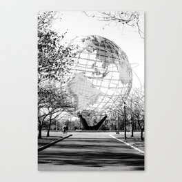 Unisphere Stands in New York City Canvas Print