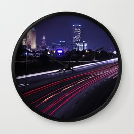 Tulsa Time Wall Clock