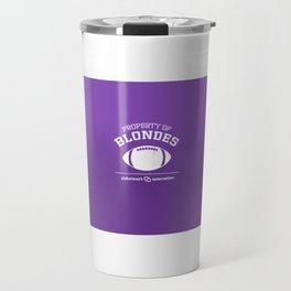Property of Blondes Travel Mug