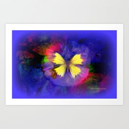 You Are The Wings in The Sky Art Print