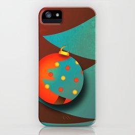 Christmas Eve (texturized edition) iPhone Case