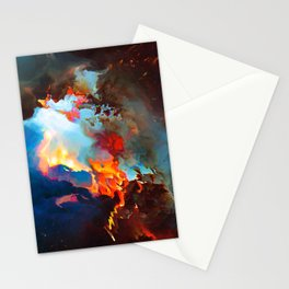 Siméla (Abstract 52) Stationery Cards
