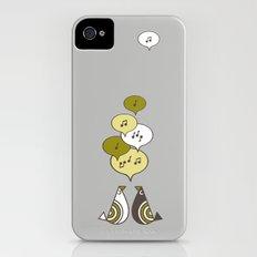 singing birds iPhone (4, 4s) Slim Case