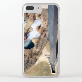 Long Way Down Clear iPhone Case
