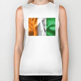 Ivory Coast Flag Biker Tank