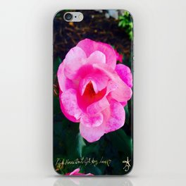 Pink Roses Don't Get Any Love - Pink Rose iPhone Skin