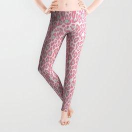 Pink Leopard Leggings