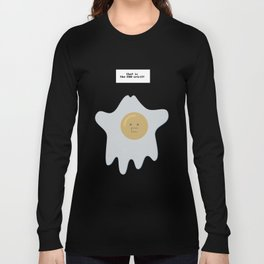 that is the EGG-spirit Long Sleeve T-shirt